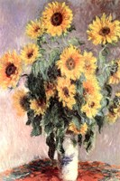 Sunflowers, 1881 by Claude Monet, 1881 - various sizes