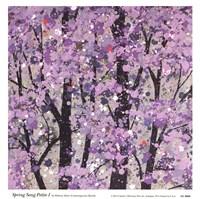 Spring Song Petite I Fine Art Print
