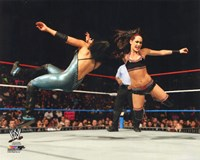 Brie Bella 2014 Action Fine Art Print