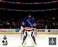 Henrik Lundqvist Game 4 of 2014 Stanley Cup Final Fine Art Print