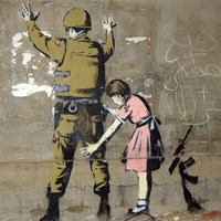 Bethlehem Wall Graffiti by Banksy - various sizes