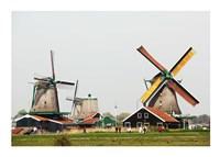 Dutch Zaanse Schans Windmills - various sizes