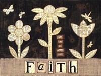Faith Flowers Fine Art Print
