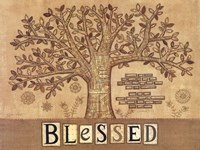 Blessed Tree of Life Fine Art Print