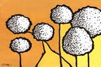 """Flowers in Unity - Yellow by David Bromstad - 36"""" x 24"""""""