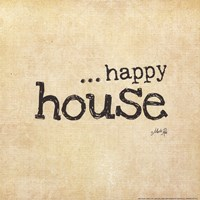 Happy House Fine Art Print