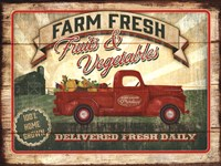 Farm Fresh Produce Fine Art Print