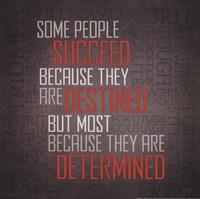 "Determined by Lauren Rader - 12"" x 12"", FulcrumGallery.com brand"