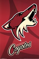 Arizona Coyotes® - Logo 14 Wall Poster