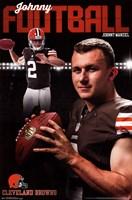 Cleveland Browns - J Manziel 14 Wall Poster