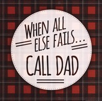 Call Dad Fine Art Print