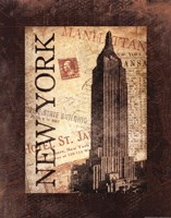 New York Postale Fine Art Print
