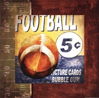 Football Card Time Fine Art Print