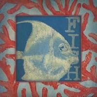"""Fish by Stephanie Marrott - 12"""" x 12"""""""