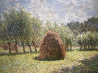 Haystacks at Giverny, 1893 by Claude Monet, 1893 - various sizes