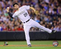 Nolan Arenado Baseball Passing Fine Art Print