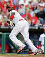 Ryan Howard 2014 Action Fine Art Print