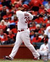 """Matt Adams 2014 Batting Action - 8"""" x 10"""" - $12.99"""