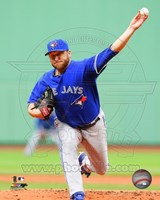 Mark Buehrle 2014 in Action Fine Art Print