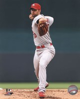 Adam Wainwright 2014 Action Fine Art Print