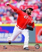 Johnny Cueto 2014 Action Fine Art Print