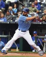 Eric Hosmer Baseball Hitting Pose Fine Art Print
