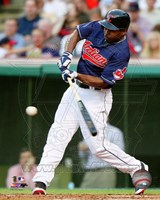 Michael Bourn 2014 Batting Action Fine Art Print