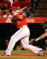 Mike Trout 2014 Baseball Action Fine Art Print