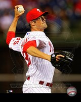 Cole Hamels Baseball Pitching Fine Art Print