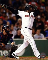 David Ortiz on field 2014 Fine Art Print