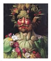 Holy Roman Emperor Rudolf II as Vertumnus Fine Art Print