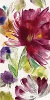 """Garden Whisper I by Asia Jensen - 12"""" x 24"""""""