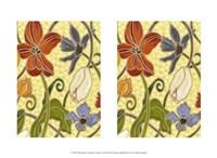 """Mini Sunny Garden I (2-Up) by Karen Deans - 13"""" x 10"""""""