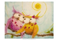 """Hoo's Bound by Love by Marabeth Quin - 19"""" x 13"""""""