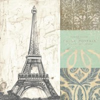 Paris Tapestry I by Vision Studio - various sizes