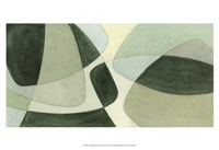 Verdigris Intersection II Fine Art Print