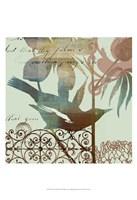 "Fanciful Bird I by W Green-Aldridge - 13"" x 19"" - $12.99"