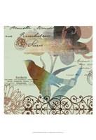 "Fanciful Bird II by W Green-Aldridge - 13"" x 19"" - $12.99"