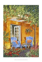 Tuscan Veranda II Fine Art Print