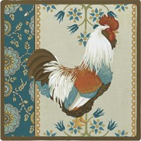 Cottage Rooster II by June Erica Vess - various sizes
