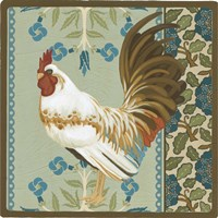 Cottage Rooster III by June Erica Vess - various sizes
