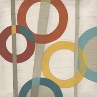 Circular Logic I Framed Print