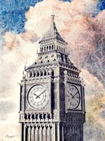 Distressed London Fine Art Print