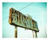 Vintage Motel I Fine Art Print