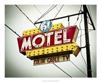 Vintage Motel V Fine Art Print