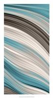 "Aqua Sweep II by James Burghardt - 14"" x 26"""