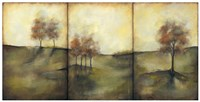 "Oversize Autumnal Meadow I by Jennifer Goldberger - 49"" x 25"""
