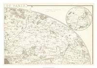 "Sepia Environs Paris II by Vision Studio - 34"" x 24"""