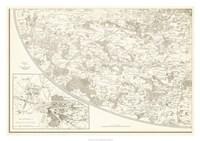 "Sepia Environs Paris III by Vision Studio - 34"" x 24"""