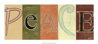 "Peace Panel by Norman Wyatt Jr. - 22"" x 10"""